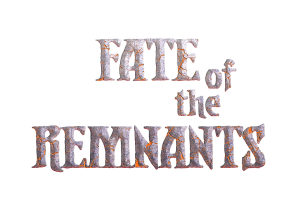 Fate-of-the-Remnants-logotype-crumbling-stone