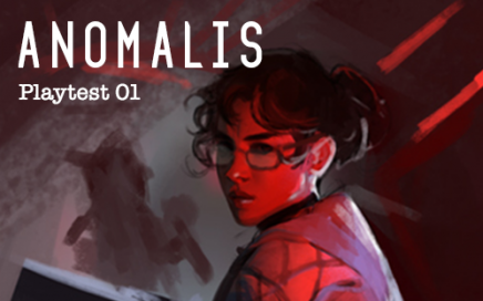 Anomalis Playtest. Illustration by Alexandra Hodgeson